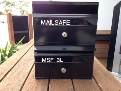 Mailsafe MSF3 Mailbox Letterbox Melbourne