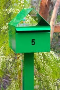 Letterbox Melbourne Mornington Mailbox