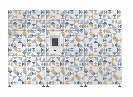 Smart parcel locker for apartments