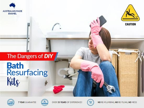 The Dangers of DIY Bath Resurfacing Kits