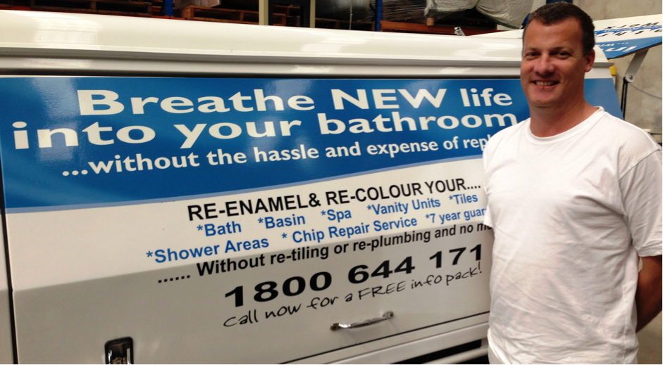 Bathroom Resurfacing Gold Coast Specialist - Grant Edwards