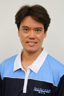 Bath Resurfacing Sydney Team - Kelvin Hwang