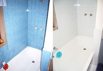 Before and After Bathroom Makeover Photos