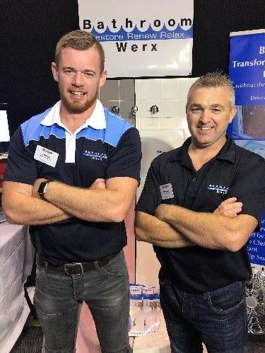 Bathroom Resurfacing Perth Team - John James Green & Darren Egan