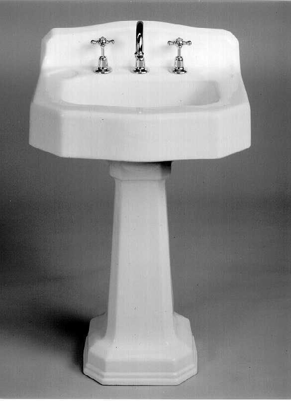 Antique Cast Iron Pedestal Basins