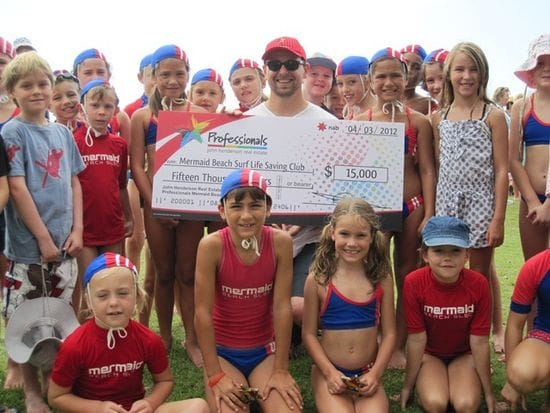 Hendersons donate to surf clubs