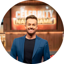 Grant Hosts the game show 'Celebrity Name Game' 5 nights per week