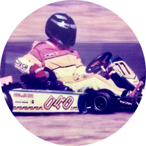 Grant Won State karting title 'NSW Country Kart Champion 1999'