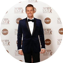 Grant is nominated for Gold Logie, and Silver Logie for Best Presenter