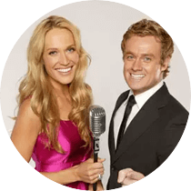 Host of 'It Takes Two' series 4 Grant hosted Australia's Got Talent Series 3