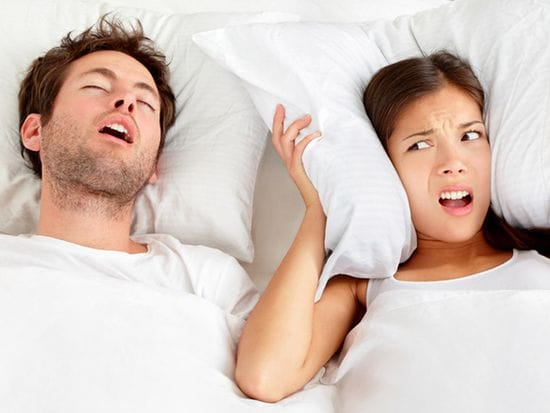 Are you tired of the snoring?