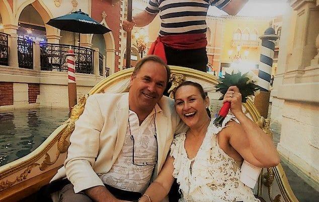 Renewal of vows Vegas Venetian