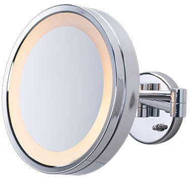 3X Magnified Lighted Mirror Wall Mount Mirror: HL7C Plug In