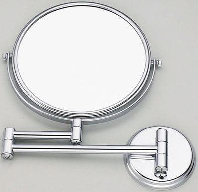 10X Wall Mount Chrome  Magnifying Mirror