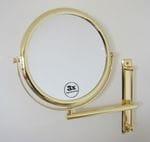 3X Wall Mount Mirror: 3030G GOLD