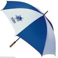 Promotional branded golf umbrella