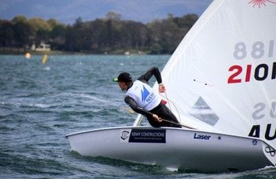 Kenny Constructions sponsors NSW Sailor Finn Alexander