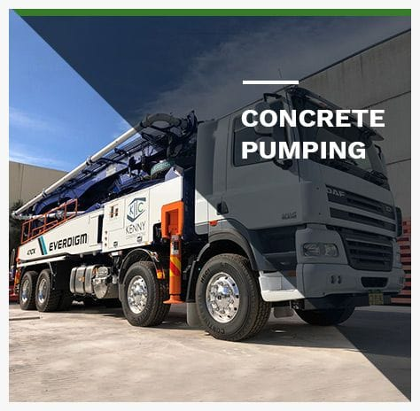 Concrete Pumping NSW & QLD | Kenny Constructions