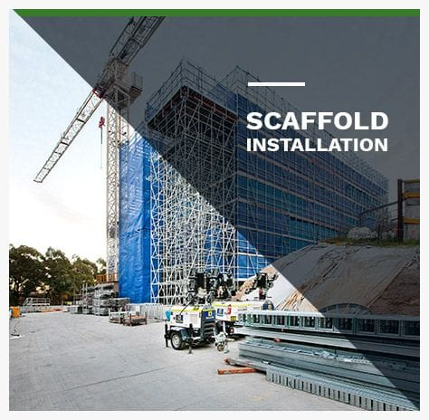 Scaffold Installation NSW & QLD | Kenny Constructions