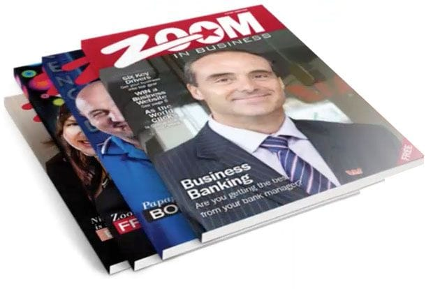 Zoom in Business magazine