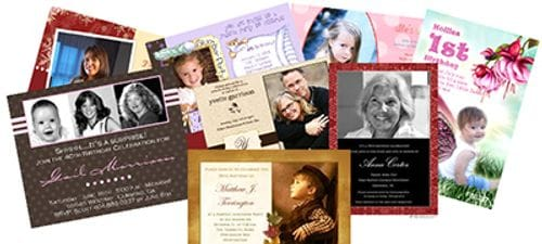 Pack of 50 A6 Invitations + Envelopes