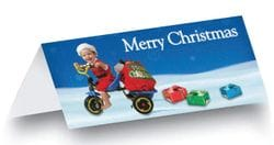Box of 100 DL Christmas Cards + Envelopes