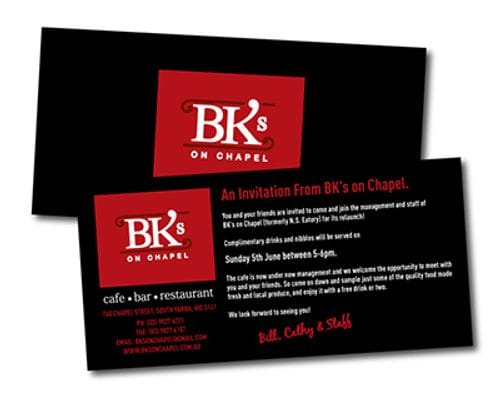 Pack of 50 DL Invitations + Envelopes