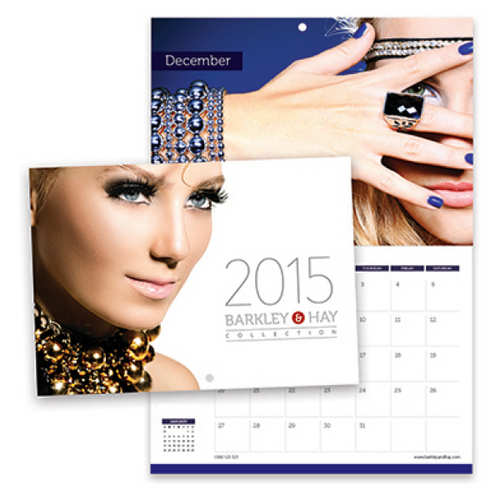 Saddle Stitch Calendar