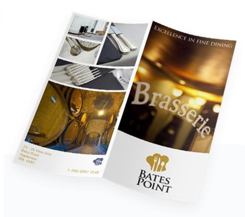 4 Page DL Brochure