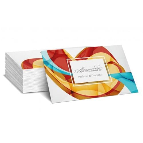 Business Cards Laminated