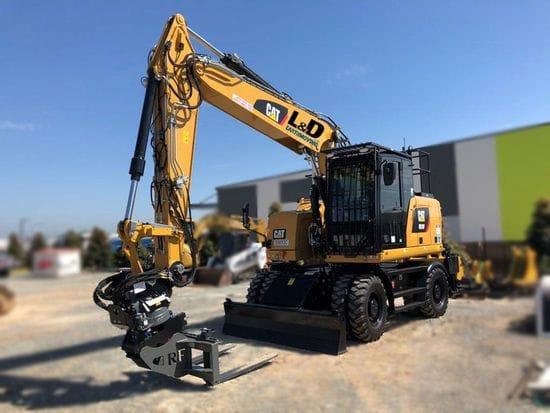 New 18t Wheeled Excavator