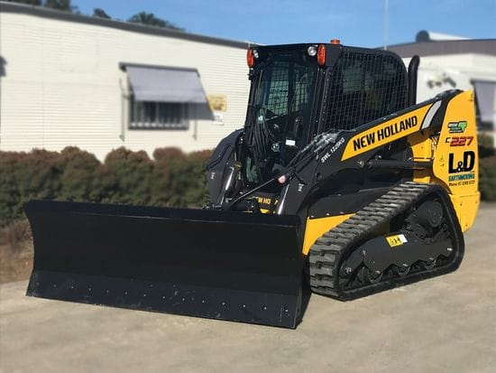New Holland Skid Steer Loader with optional Dozer Blade