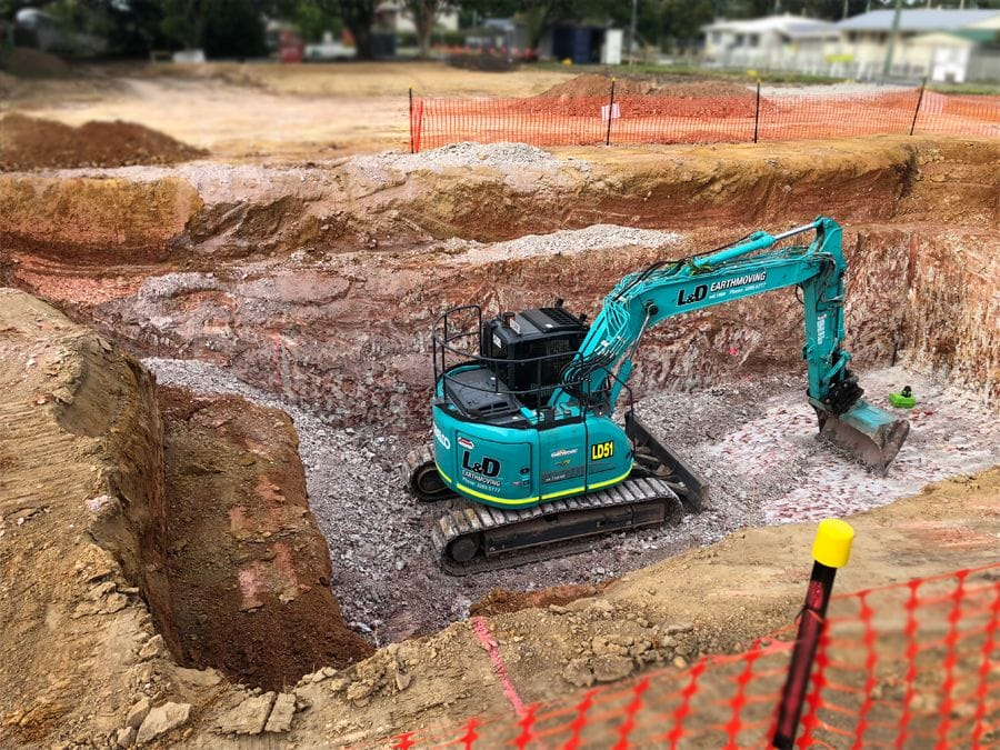 View Excavator options