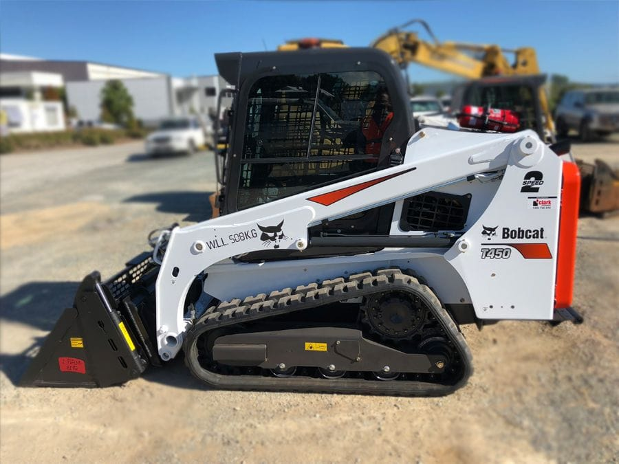 New Bobcat T450 Compact Tracked Loader at L&D Earthmoving