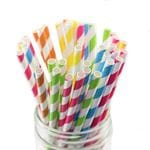 Paper & Cpla Drinking Straws
