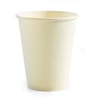 White PLA Lined (compostable)