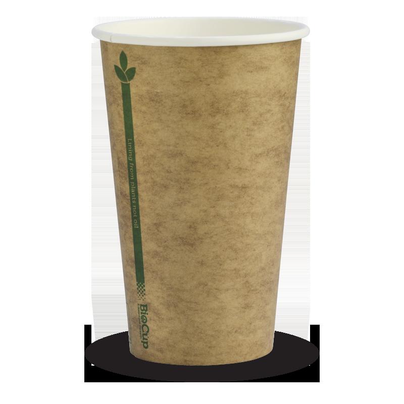 Kraft Green Line Cups (80mm) Lid
