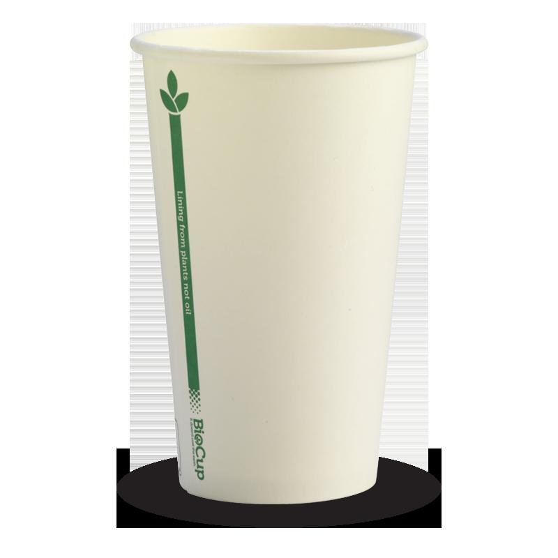 Crisp White PLA lined Cups (80mm) lid