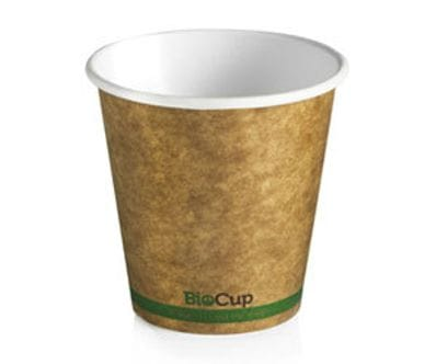 6oz BioCup  single wall Kraft Hot Cup