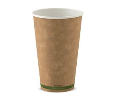 16oz BioCup single wall Kraft Hot Cup