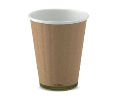 8oz BioCup double wall KRAFT