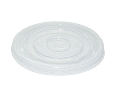 90mm PLA Cold Lid with Straw Hole