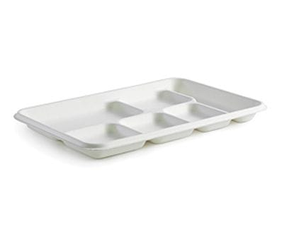 6 Compartment BioCane Tray
