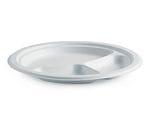 "10"" Round 3 Compartment BioCane Plate"
