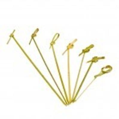 Bamboo Looped Skewer 90mm