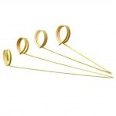 Bamboo Ring Skewer 120mm