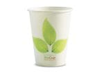 390ml/12oz(90mm) Leaf Single Wall Biocup