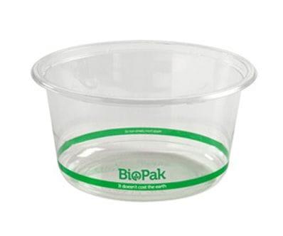 700ml Clear Wide Biobowl