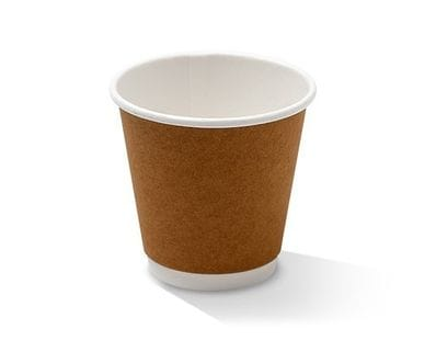 8oz Double wall Kraft hot Cup UNI