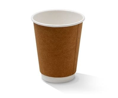 12 oz Double Wall Kraft hot Cup